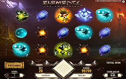 Elements Slot Machine