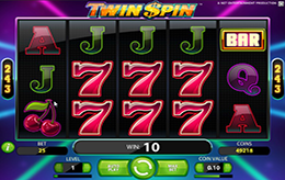 Twin Spin Gratis Slot