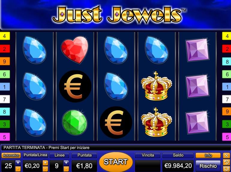 Slot Machine Gratis Just Jewels