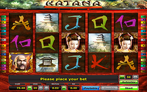 Katana Slot Machine Gratis