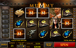 Mummy Slot Machine Gratis