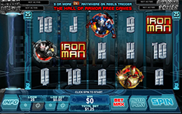 Iron Man 3 Gratis Slot Machine