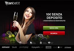 Titanbet - 10 Euro Gratis Senza Deposito