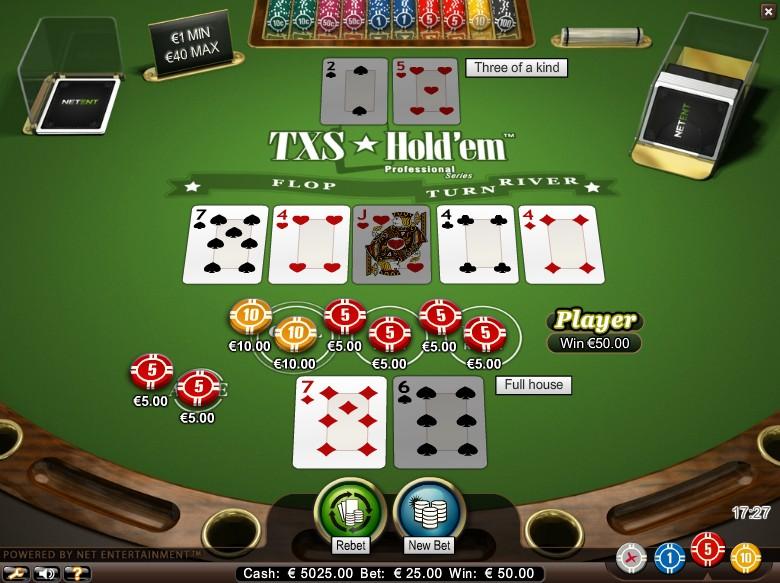 Online Texas Hold Em