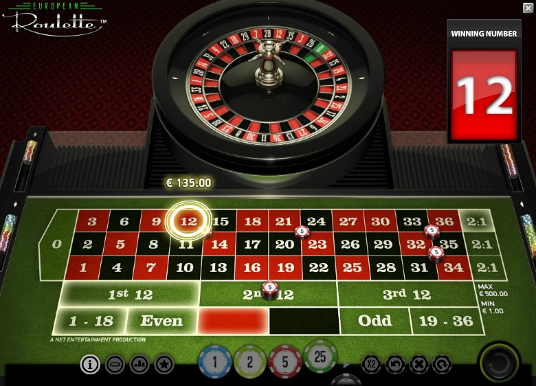 Spiele European Roulette (Gaming1) - Video Slots Online