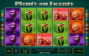 Slot Novomatic Twenty on Plenty